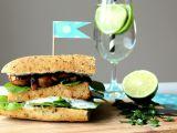 Tofu burger s grilovanými žampiony a špenátem recept ...