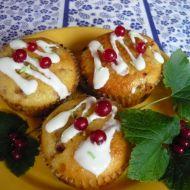 Rybízové muffinky recept