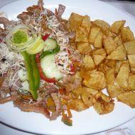 Kuřecí nudličky na zelenině recept