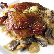 Pečená kachní stehna recept