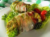 Kapustové závitky s masem a sýrem recept