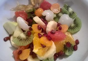 Exotický ovocný salát