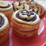 Věžičky z máslových sušenek recept
