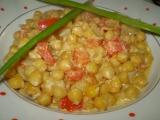 Cizrna s rajčaty recept