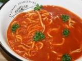Čínské nudle v rajčatové polévce recept