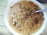 Mateřídoušková polévka s hlívou a rýží recept