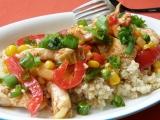 Quinoa / merlík / s kuřecím masem a zeleninou recept