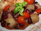 Kuřecí stehýnka s rajčátky z trouby recept