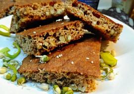 Chlebová placka ze žitných a ovesných otrub se semínky recept ...