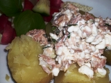 Brambory s tuňákovým Cottage recept