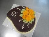Dort k 65. narozeninám recept