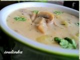 Žampionovo-bramborová polévka recept