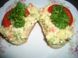 Chlebíčkový salát recept