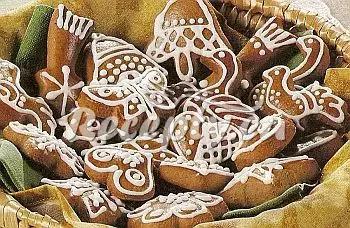 Vánoční medové perníčky recept  nejen vánoční cukroví