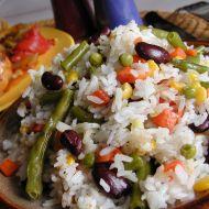 Rýže dušená se zeleninou recept