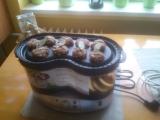 Parní masové placičky s bramborem recept