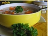 Polévka z vepřového kolena recept