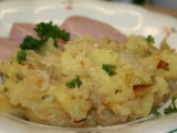 Holeček  brambory se zelím. Pro gmptop Miloškovi na přání. recept ...