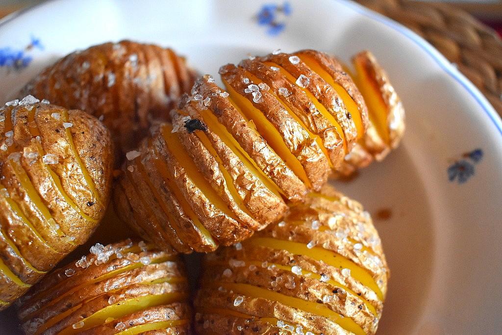 Pečené brambory Hasselback recept