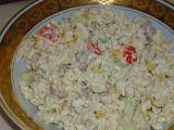 Letní těstovinový salátek recept