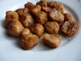 Smažené sojové kostky recept