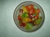 Barevný rajčatový salát recept
