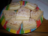 Drobenkový tvarohový koláč recept