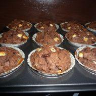 Nadýchané čokoládové muffiny recept