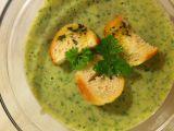 Rukolová krémová polévka s bylinkovými krutony recept ...