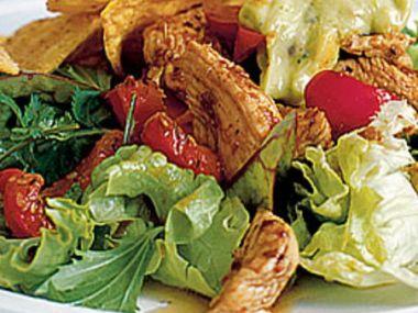 Salát s krůtím masem
