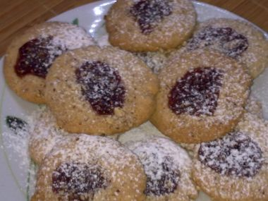 Sušenky s arašídovou pomazánkou