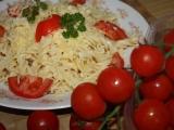 Italské těstoviny s rajčaty recept