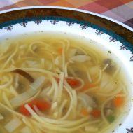 Polévka s čínskou směsí recept