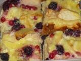 Jablečný koláč z tvarohového těsta recept