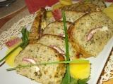 Zeleninovo  masová sekaná, plněná smotky s gorgonzolou recept ...