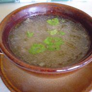 Vepřová polévka z kolene recept