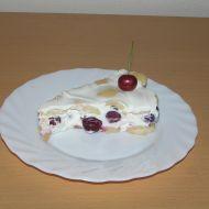 Nepečený třešňový dort recept