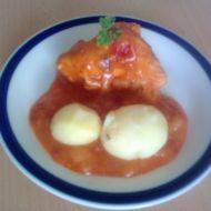 Kuře na rajčatech recept