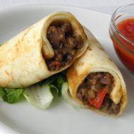 Domácí burrito s hovězím masem recept