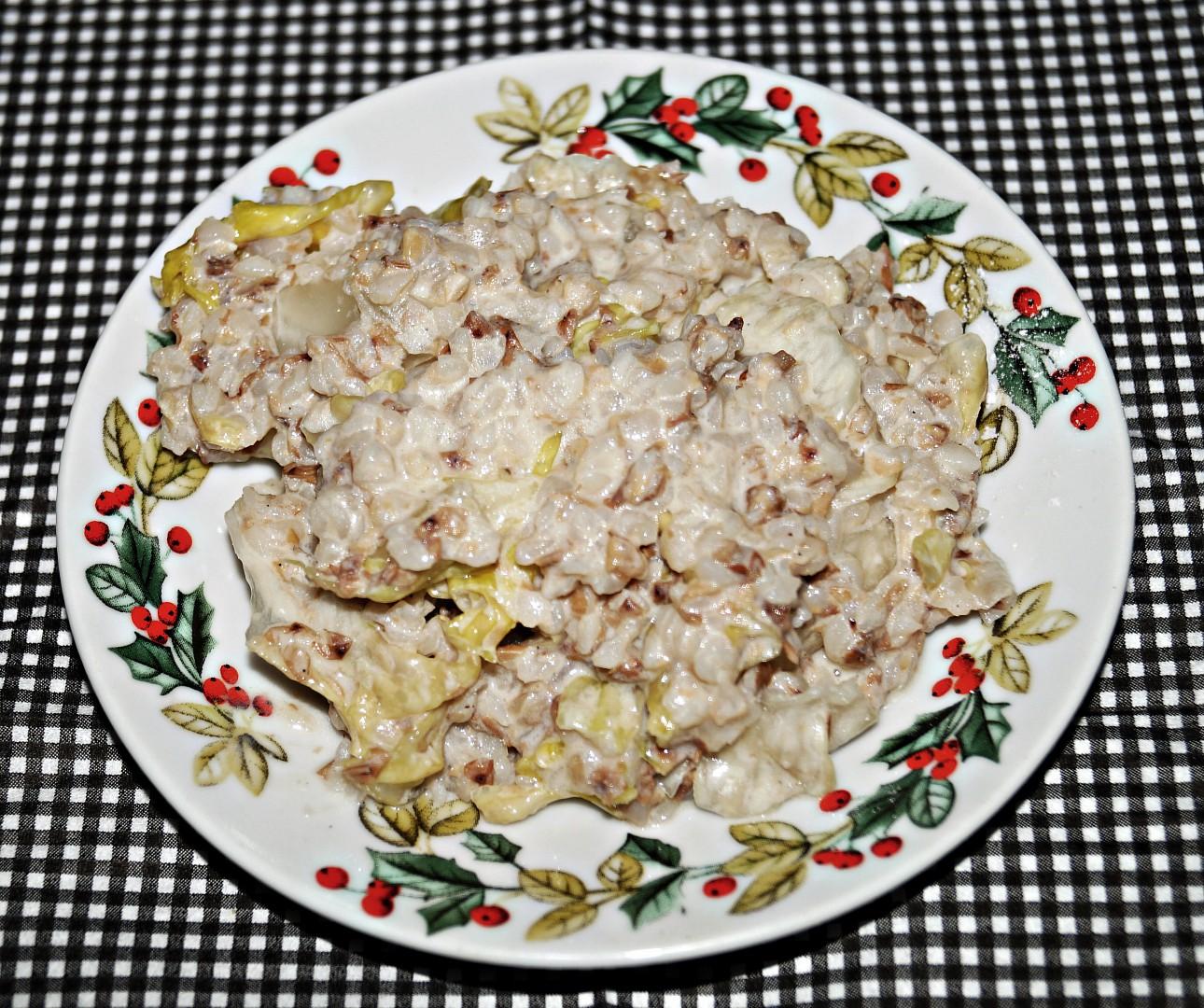 Pohankový salát recept