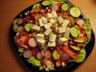 Skládaný salát