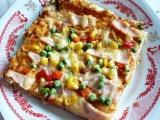 Vločková pizza recept
