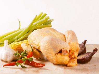Kuře s medem a ananasem