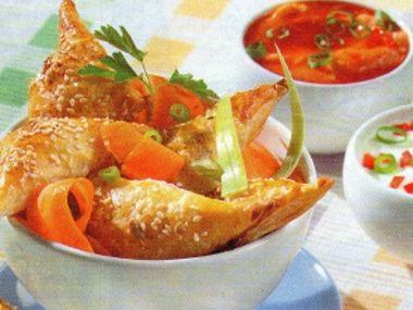 Taštičky s rybím masem