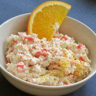Surimi salát z krabích tyčinek recept