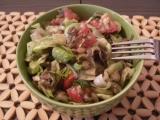 Čočkový salát se zeleninou  studený i teplý recept