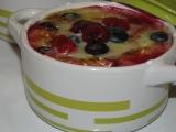 Sladké ovocné zapečené mističky recept
