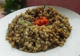 Kroupové rizoto aneb krupoto s ajvarem a hříbky recept ...