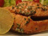 Jednoduchý bylinkový losos recept