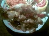 Kuře na olivách a pomerančích recept
